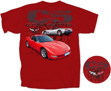 Corvette Stingray  on Corvette T Shirts   Corvette Apparel